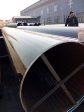 EN10219 S355J2H LSAW Steel Pipe 813mmX25MM
