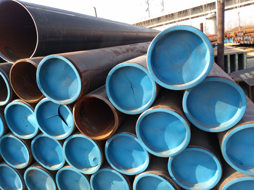 LSAW steel pipe stock