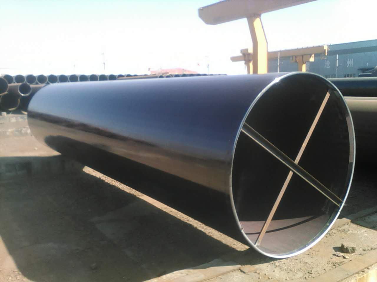 What is the difference between the UOE&JCOE Pipe technology for LSAW PIPES
