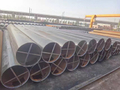 EN10219 S355J2H LSAW steel pipe exported to South America